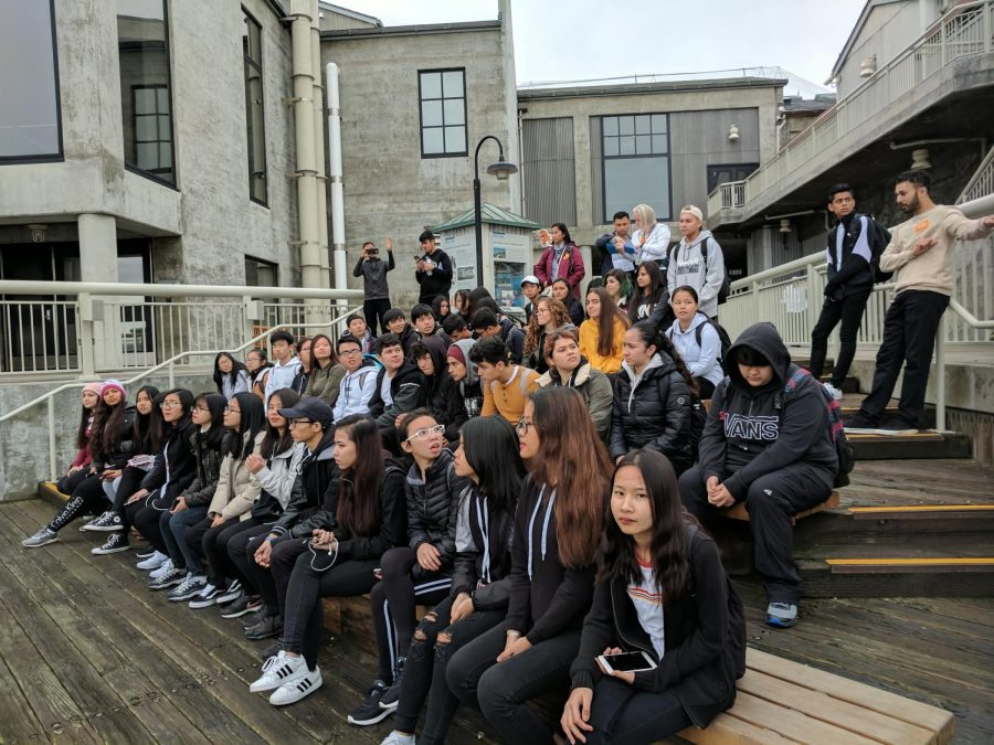 ELD Bio and Chem Go to The Monterey Bay Aquarium